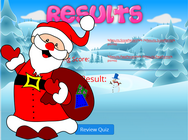 counting up to 10 Santa Claus math game for children, counting winter game for 5 years old kids, numbers game for children in grade 1