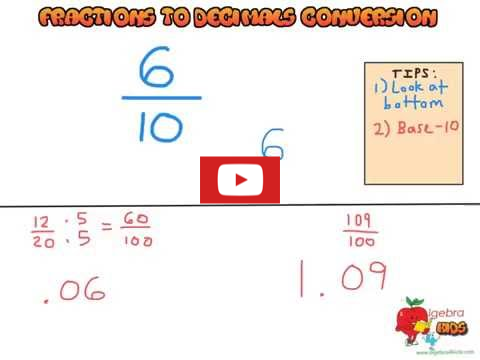 converting fractions to decimals video tutorial, decimals to fractions conversionpractical examples, fractions to decimals games for grade 4 students